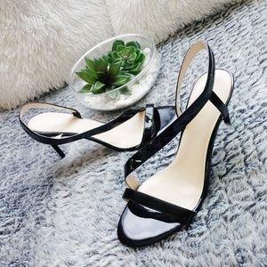 Nine West Open Toe Strappy Heels 10